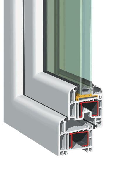 Serramenti in pvc finestre elegance 70 mm 2 guarnizioni ps serramenti - Guarnizioni finestre alluminio ...